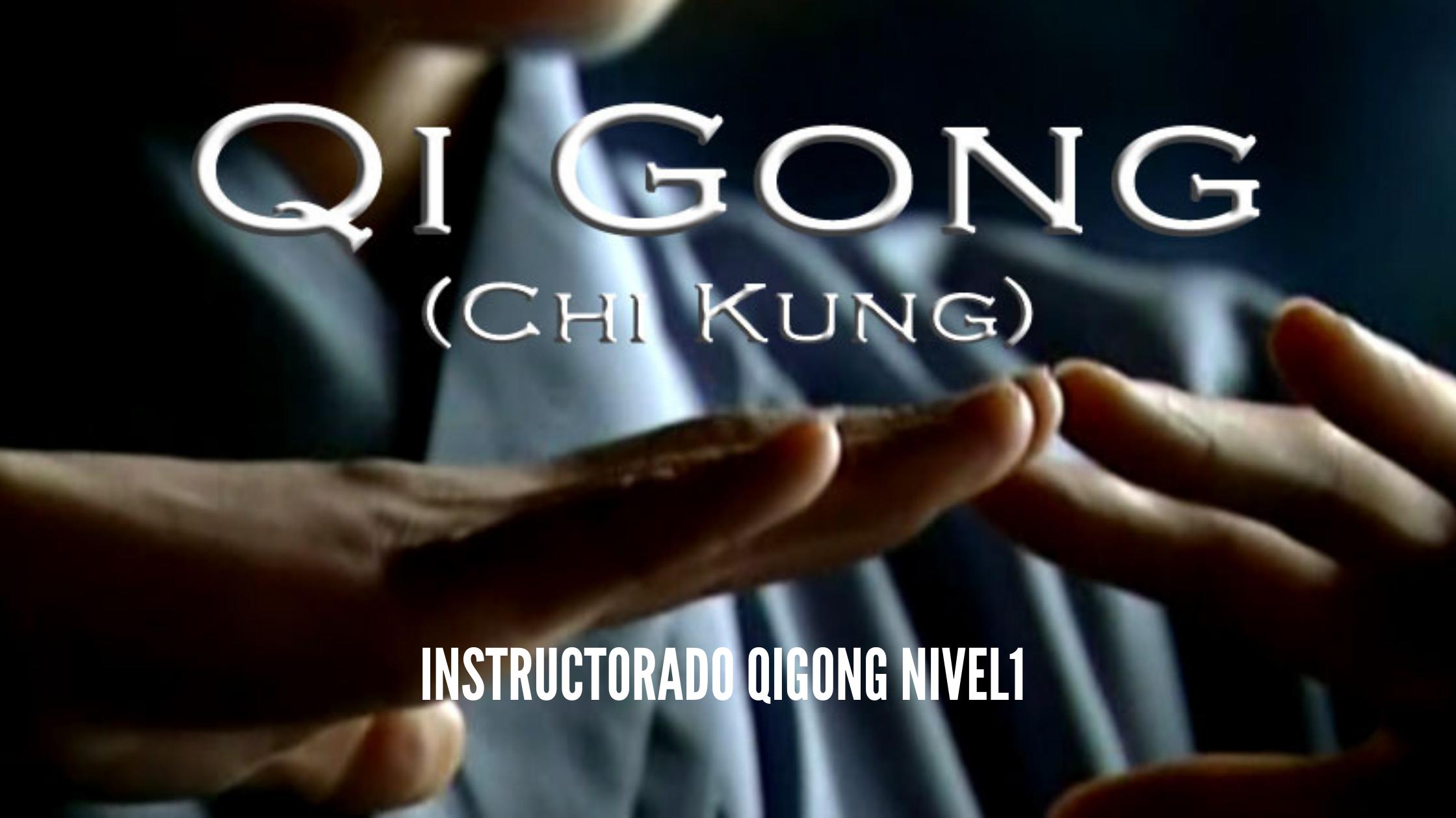 Instructorado Qigong nivel 1 septiembre 2021